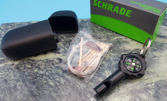 Schrade Survival Kit Whistle/Compass