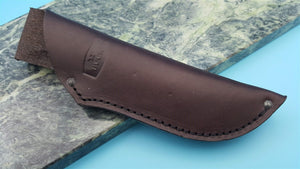 Buck Knives Ranger 113 Brown Leather Fixed Blade Knife Belt Sheath only FS