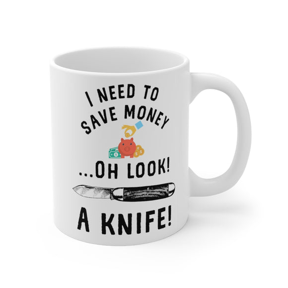 Pocket Knife Collector Collecting Knives 11oz Mug