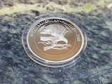 Woodland Caribou North American Hunting Club NAHC Super Slam Silver Plt Coin
