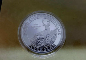 North American Hunting Club Mule Deer Big Game Super Slam Silver Collector Coin