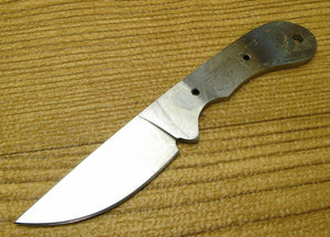 "Small Mini Skinner Knife Making Blade Blank 2 1/2"" Stainless Fixed Blade Hunting"