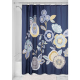 GARDEN FLORAL SHOWER CURTAIN