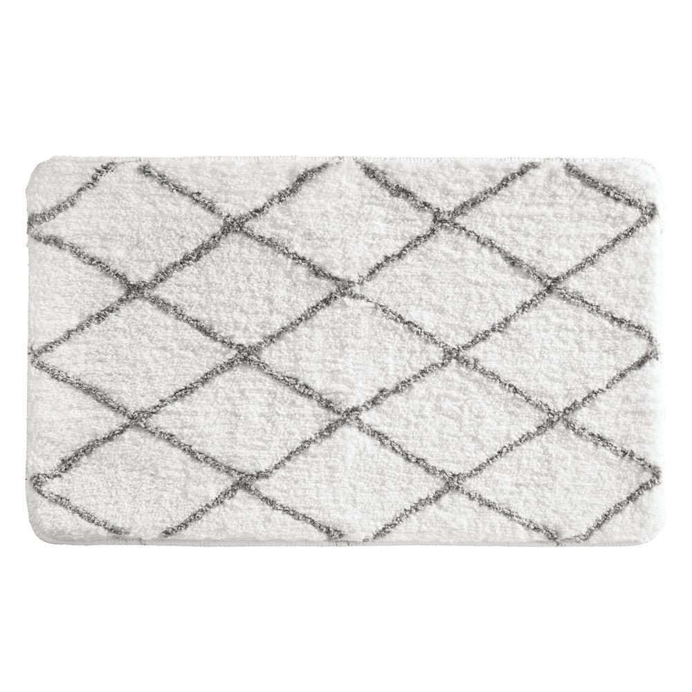 diamond sherpa bath rug