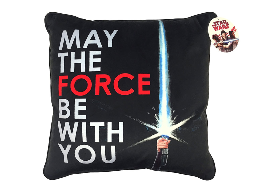 May The Force Be With You Decorative Pillow