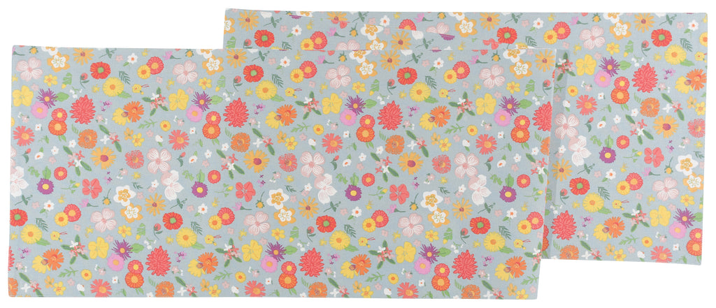Flowers Of The Month Tablecloth runner