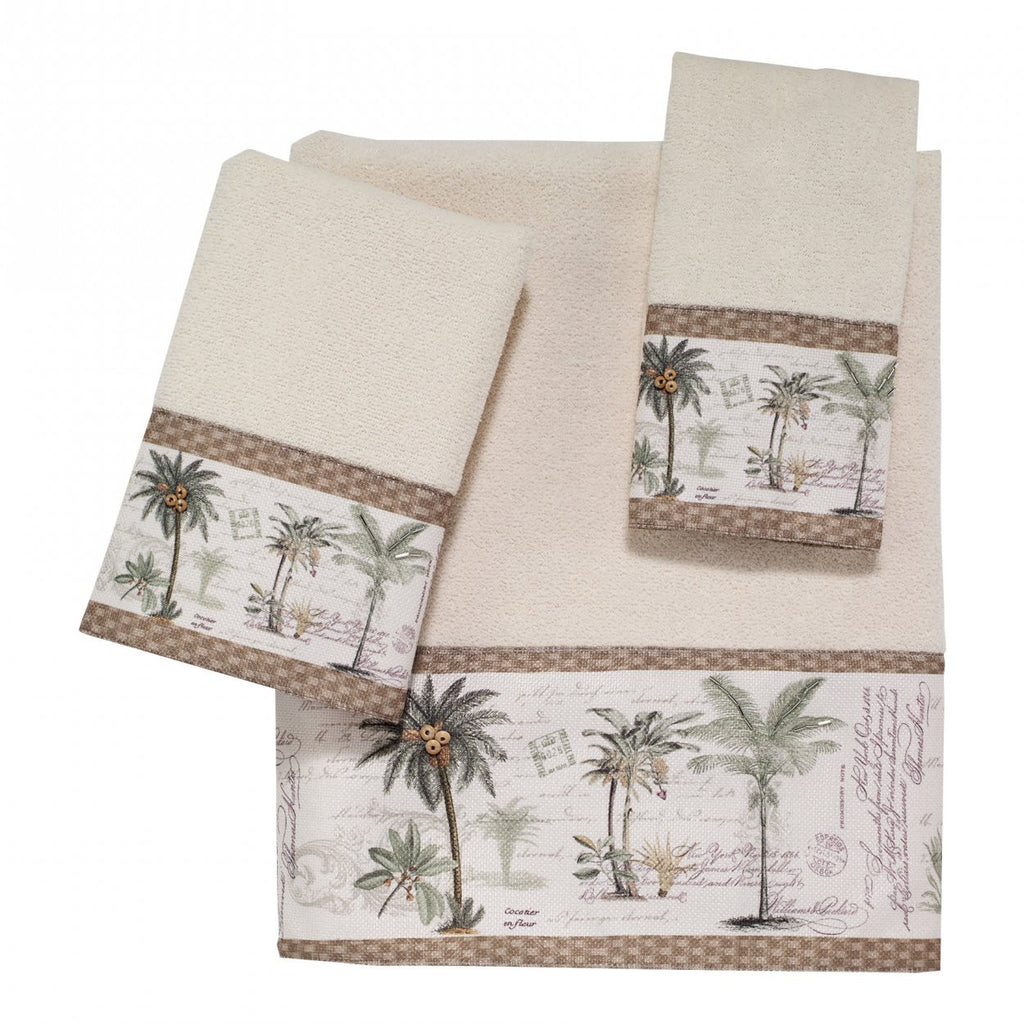 colony palm towels