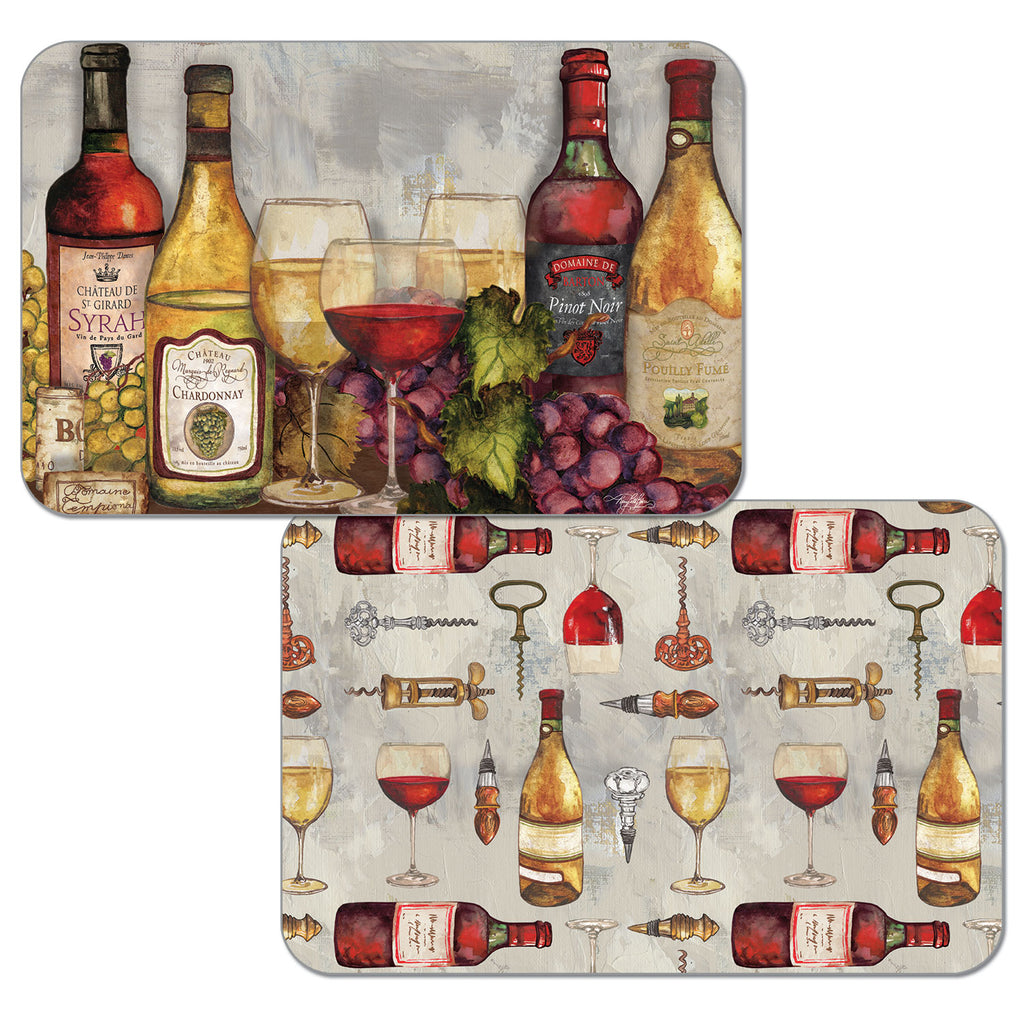 Wine Time Reversible Placemats