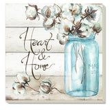 Cotton Boll Absorbent Stone Coasters
