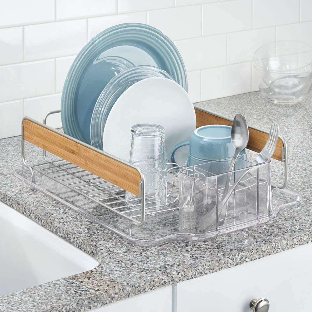Interdesign Formbu Dish Rack & Drain Board