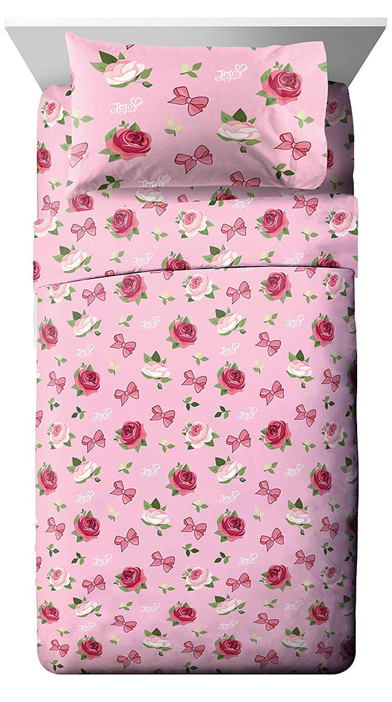 Jojo Bows and Roses Sheet Set