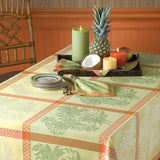 pineapple jacquard tablecloth