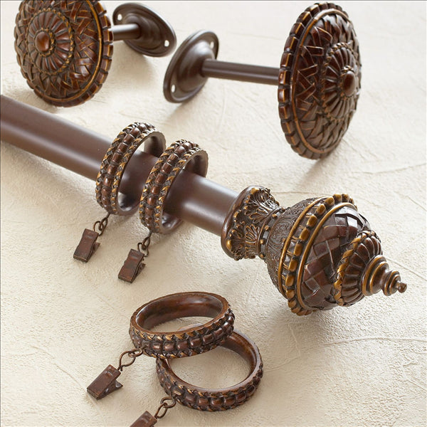 CROSCILL FORTUNATA WINDOW HARDWARE