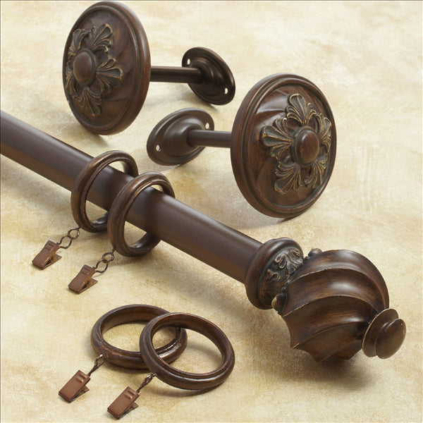 Croscill Basque Window Hardware