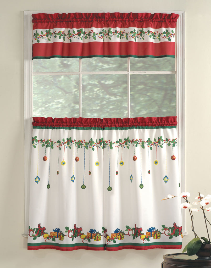 GIFT BOX KITCHEN CURTAIN SET