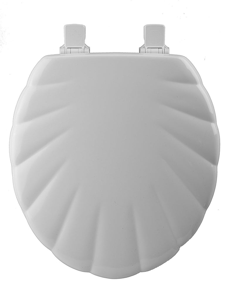 Sculptured Shell Toilet Seat