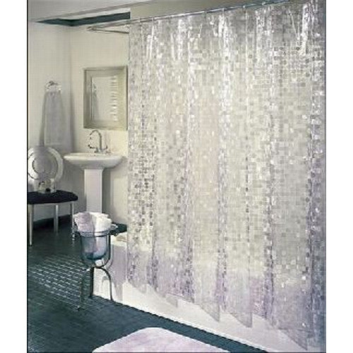 disco shower curtain