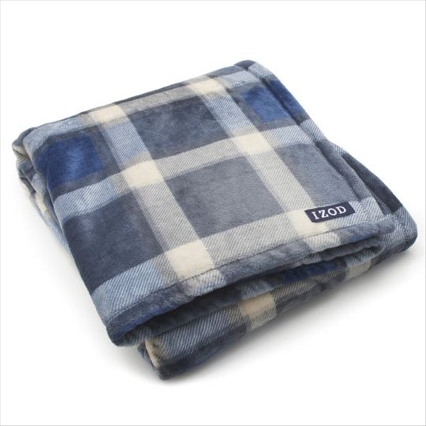 IZOD RILEY PLUSH THROW