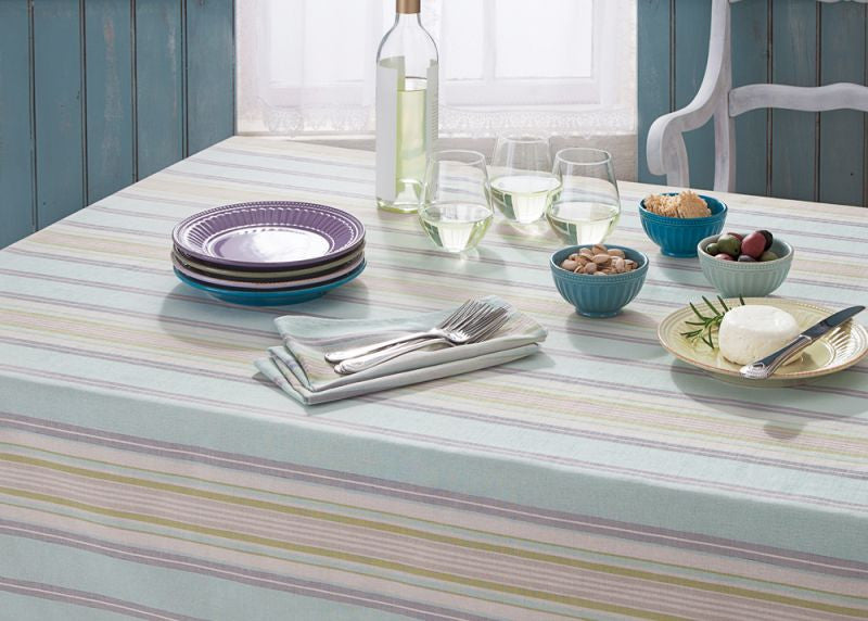 LENOX FRENCH PERLE STRIPE TABLE LINENS