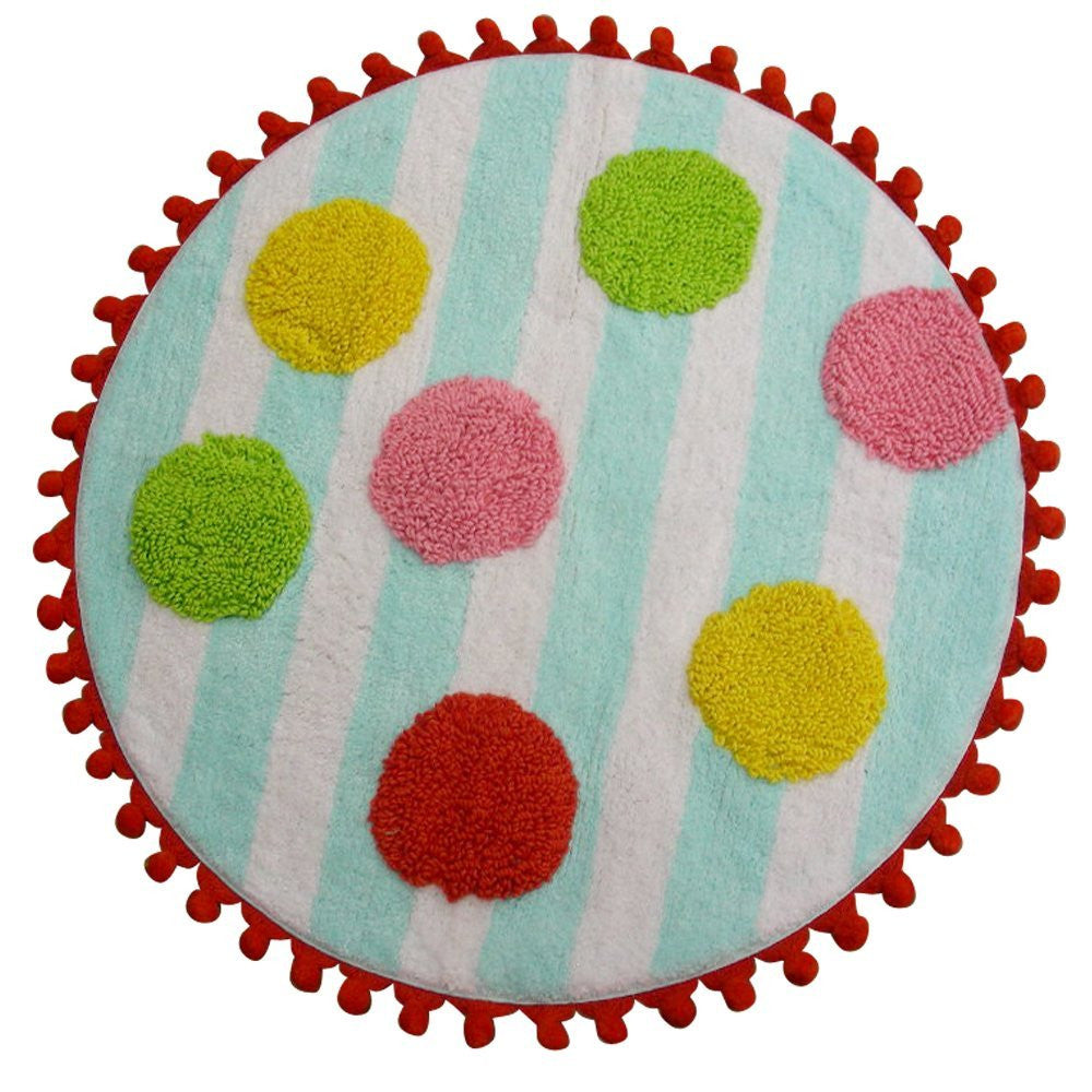 GUMBALL MACHINE BATH RUG