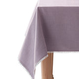 lenox french perle solid tablecloth violet