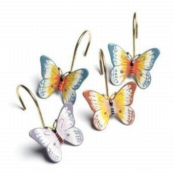 LENOX BUTTERFLY MEADOW SHOWER HOOKS