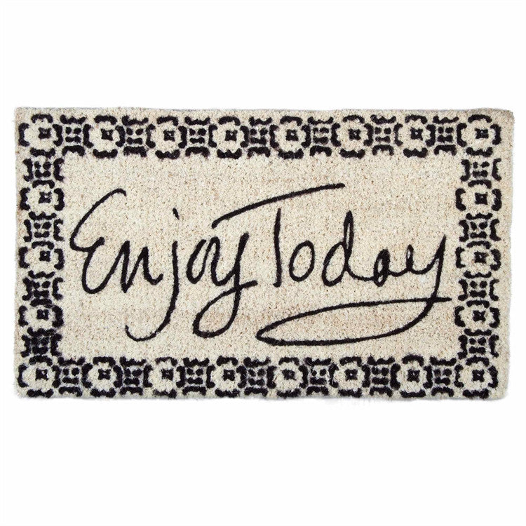 ENJOY TODAY DOOR MAT