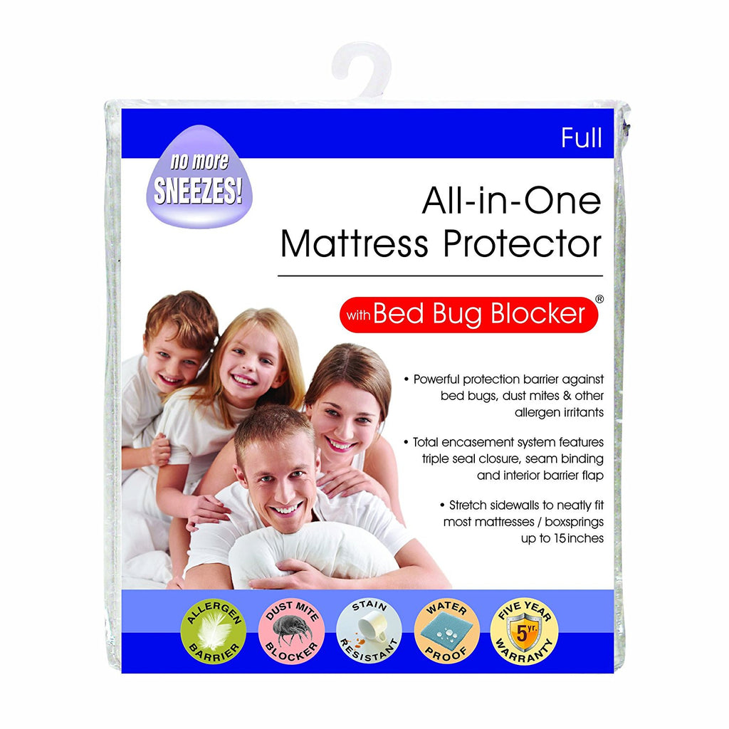 bed bug blocker mattress protector