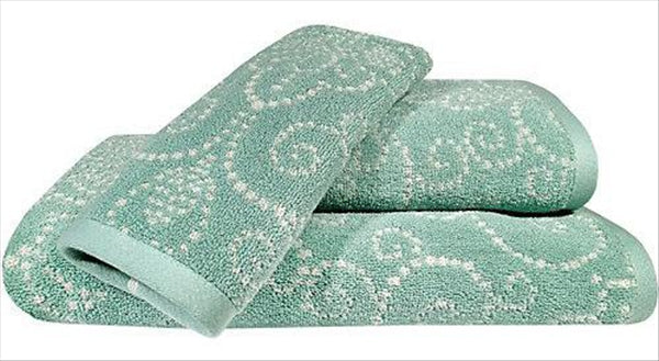 LENOX FRENCH PERLE GROOVE TOWELS