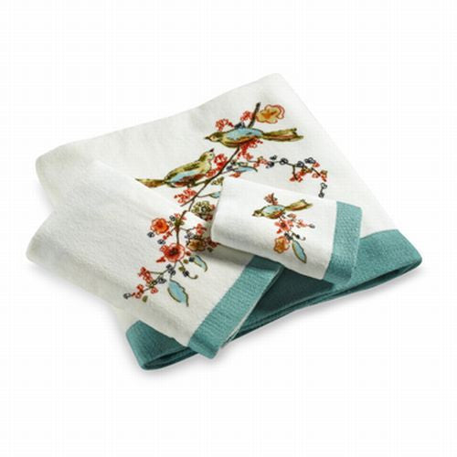 LENOX CHIRP PRINT TOWELS