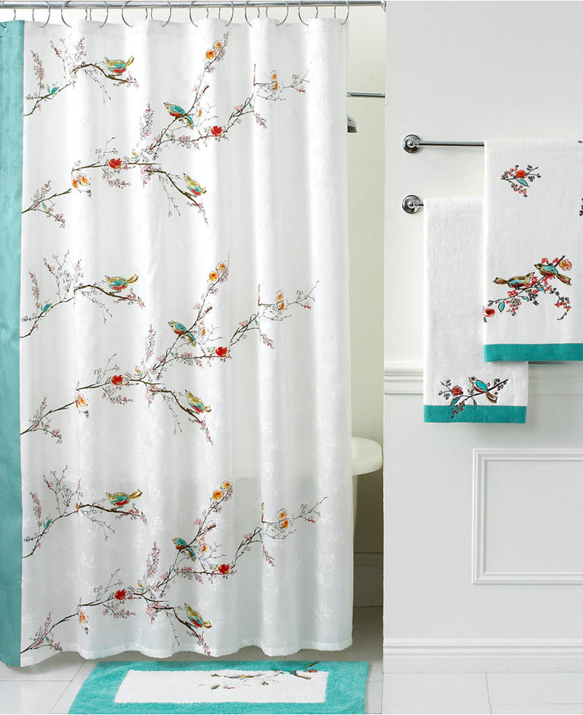 LENOX CHIRP SHOWER CURTAIN