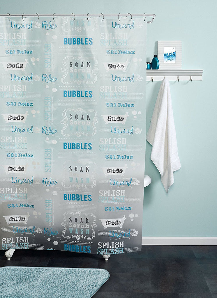 BUBBLE BATH SHOWER CURTAIN