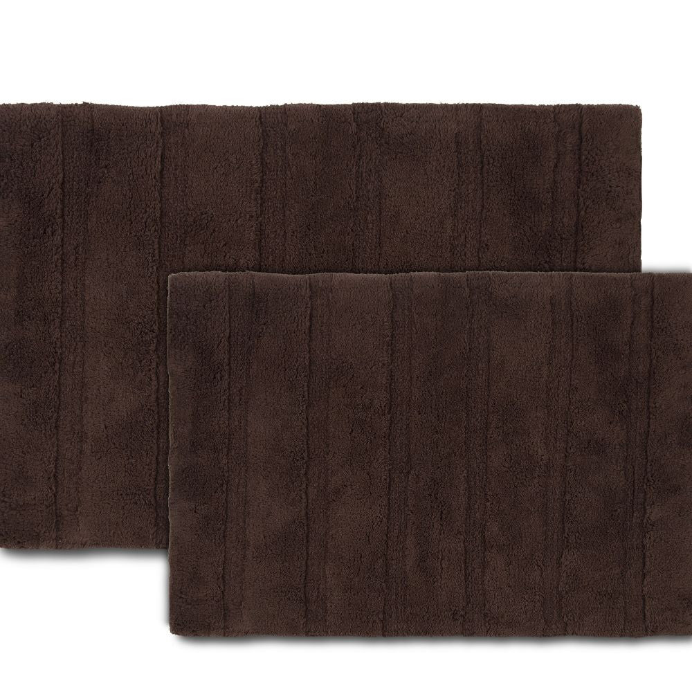 MARTEX ABUNDANCE BATH RUGS chocolate