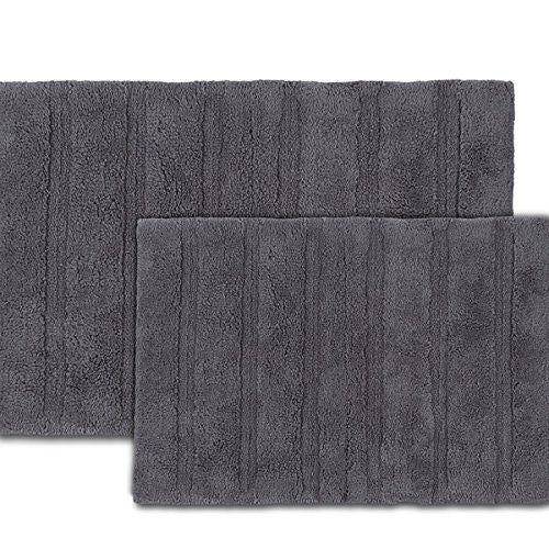 MARTEX ABUNDANCE BATH RUGS grey
