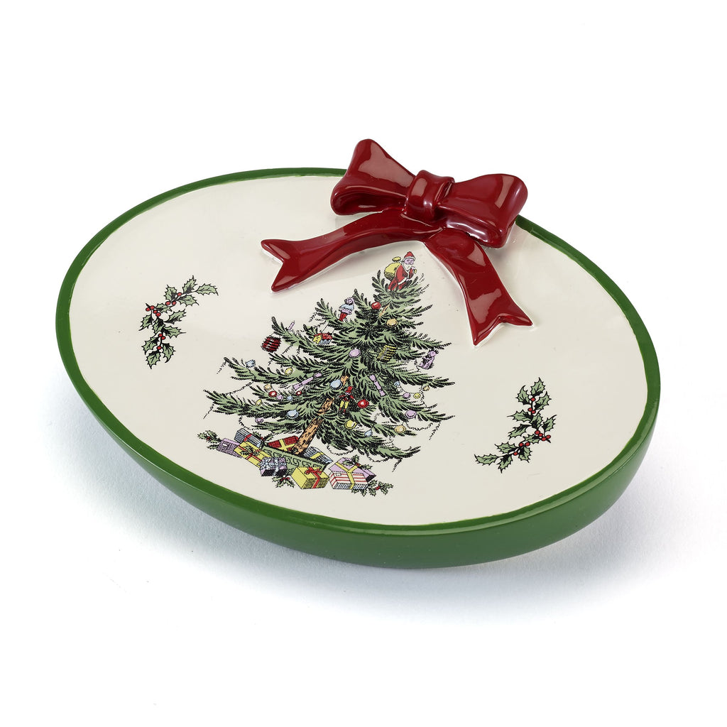 SPODE CHRISTMAS TREE BATH ACCESSORIES soap dish