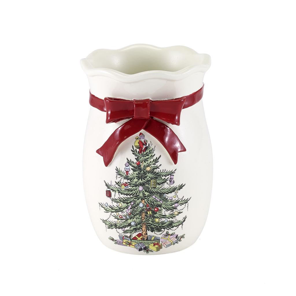 SPODE CHRISTMAS TREE BATH ACCESSORIES tumbler