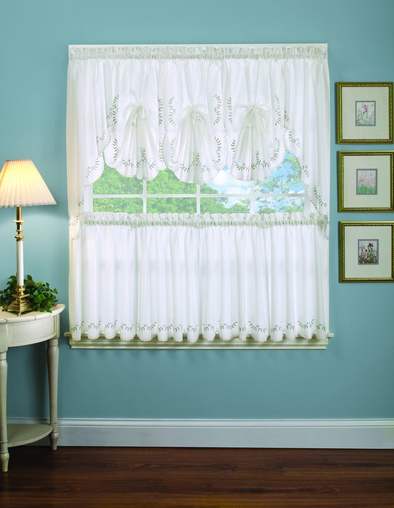 Forget Me Not Kitchen Curtain