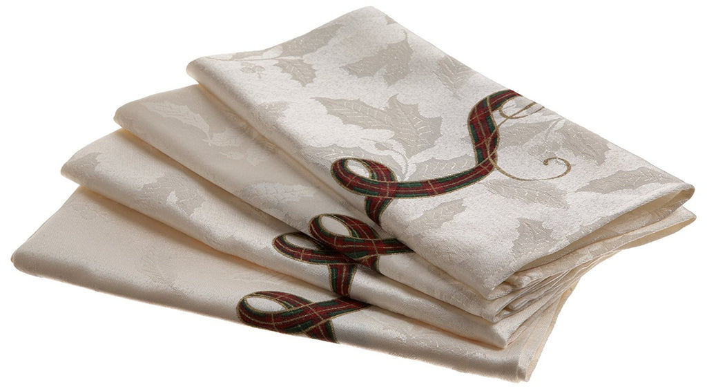 LENOX HOLIDAY NOUVEAU TABLE LINENS napkins