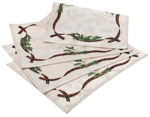 LENOX HOLIDAY NOUVEAU TABLE LINENS placemats