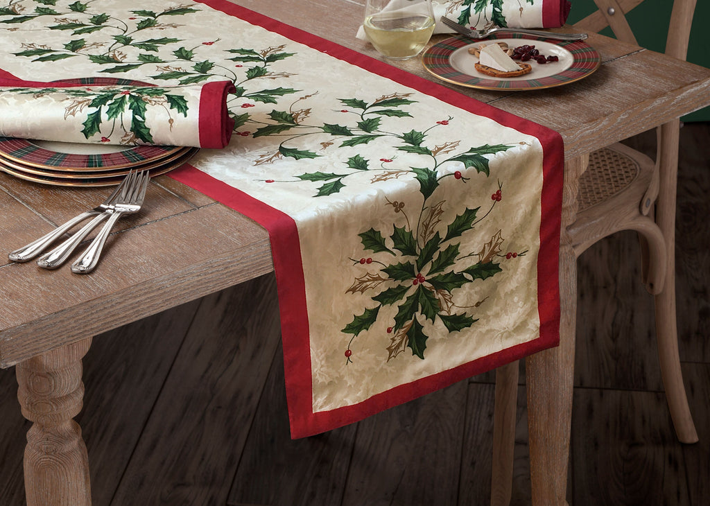 LENOX HOLIDAY TABLECLOTH ...