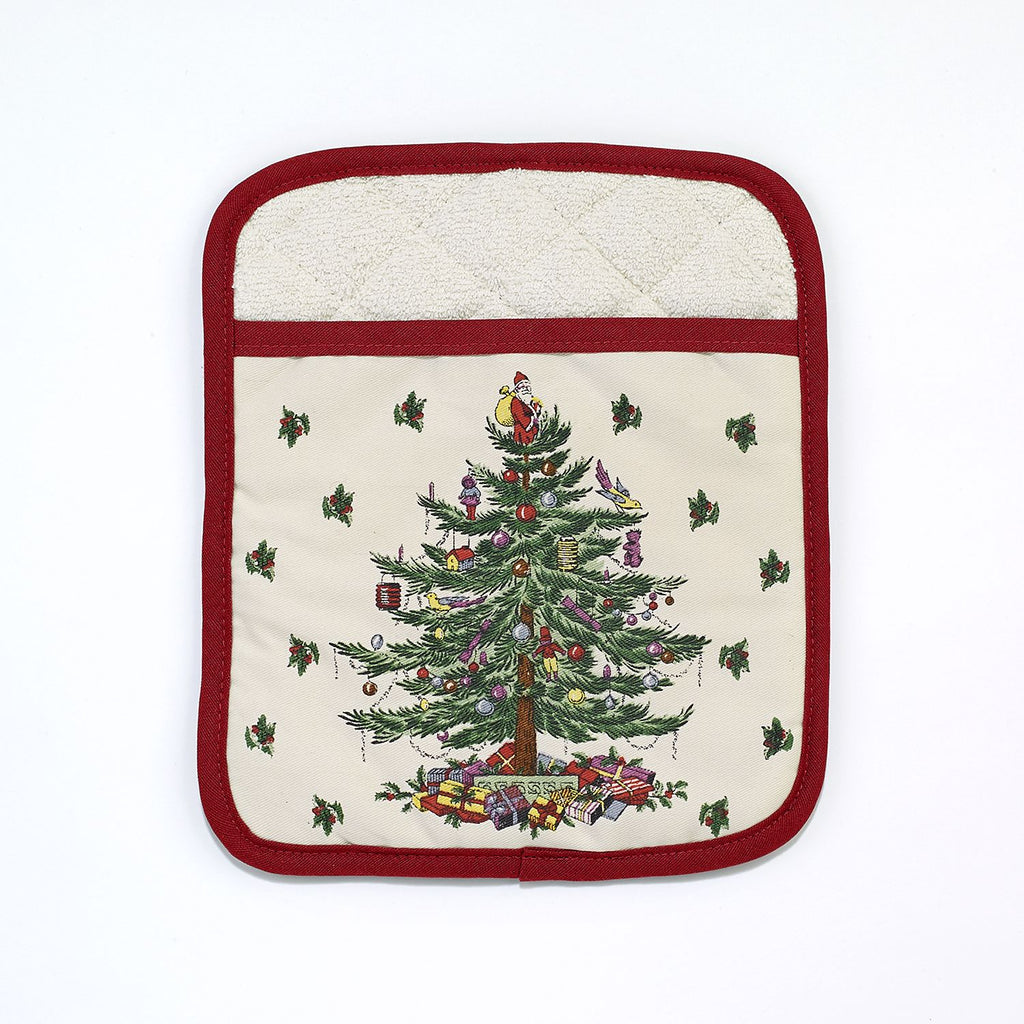 SPODE CHRISTMAS TREE KITCHEN ACCESSORIES pot holder