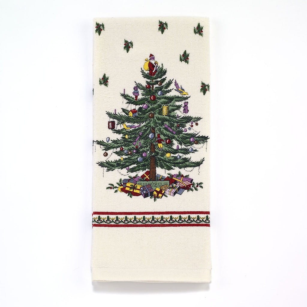 SPODE CHRISTMAS TREE KITCHEN ACCESSORIES towel