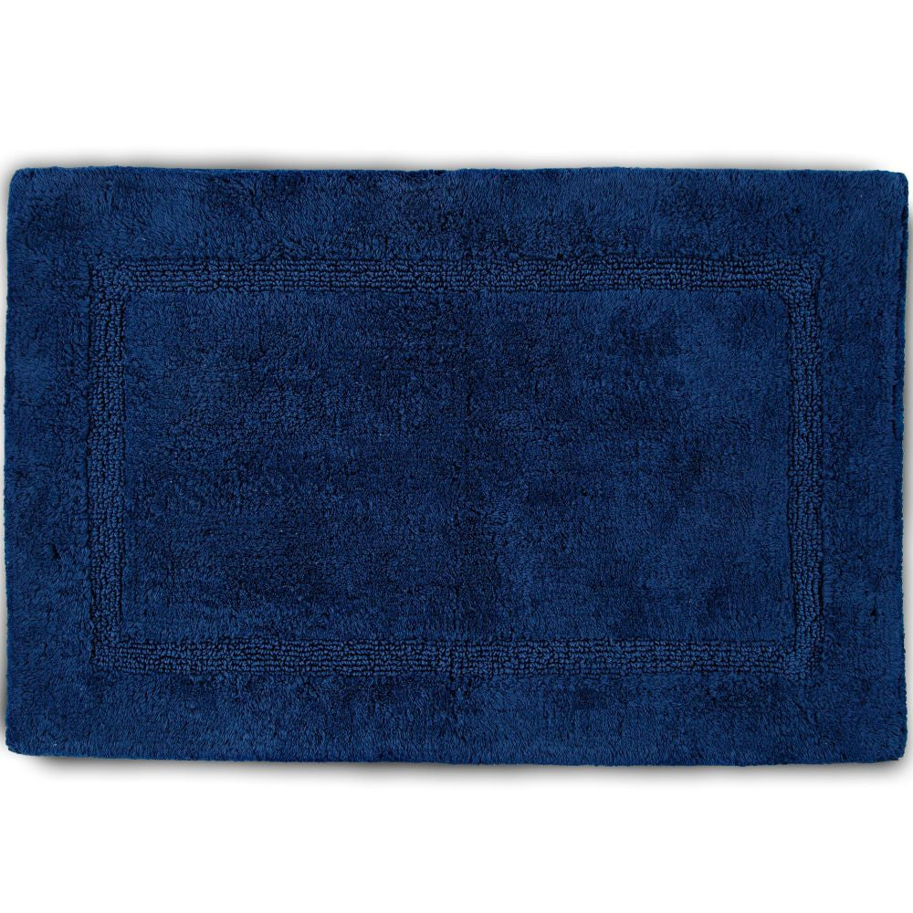 MARTEX BASIC BATH RUGS navy