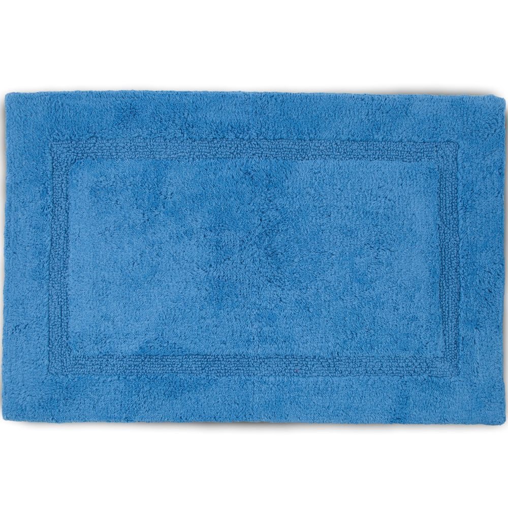 MARTEX BASIC BATH RUGS blue