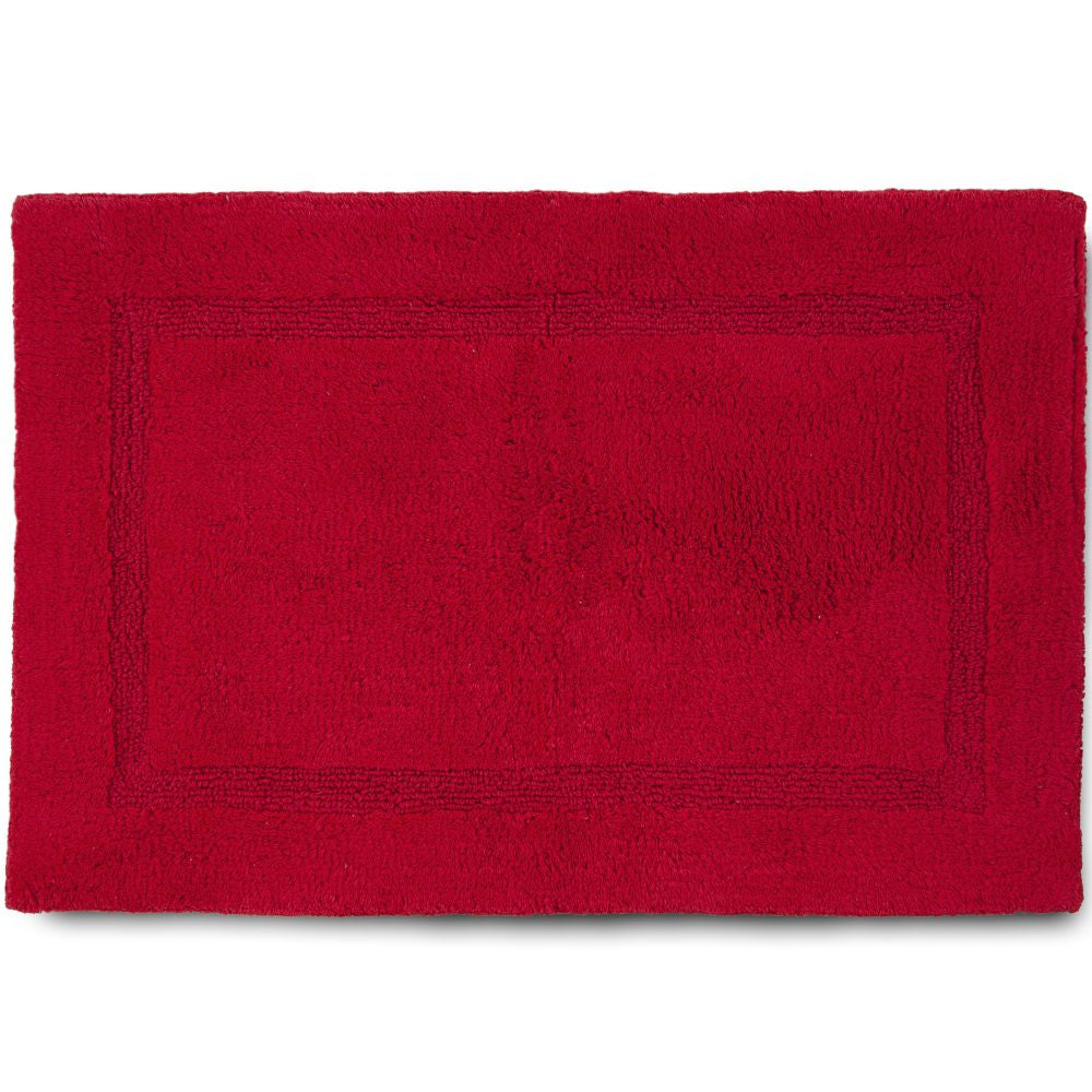MARTEX BASIC BATH RUGS red
