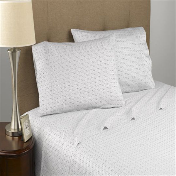 Modern Living Dotted Line Certified Organic Sheet Set