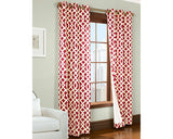trellis grommet red