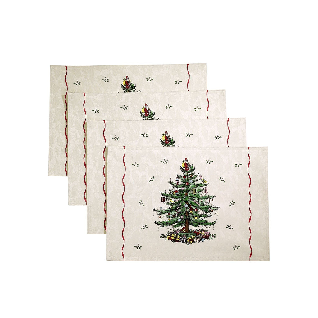 SPODE CHRISTMAS TREE TABLECLOTH placemat