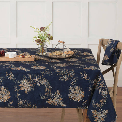 AUTUMN CHECK TABLECLOTH