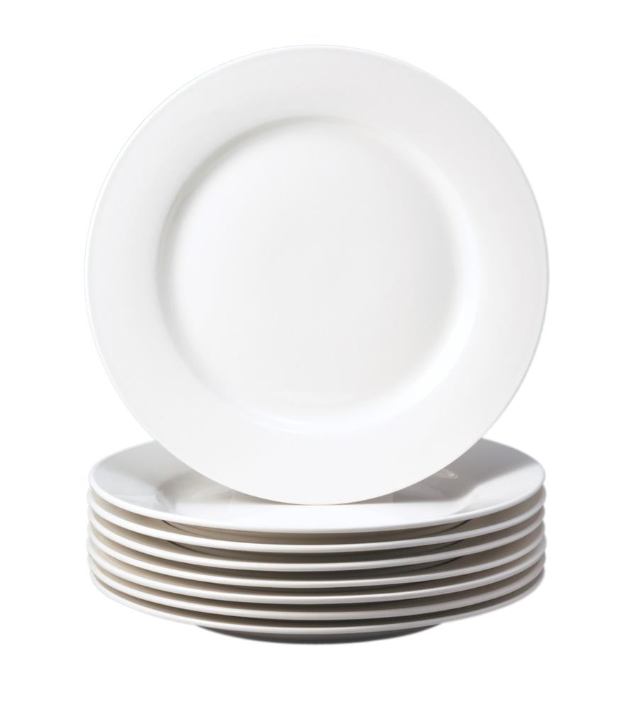 Basic White Open Stock Dinner Plate